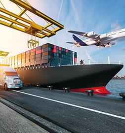 飛機貨輪及卡車