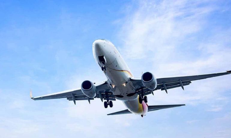 天空的飛機