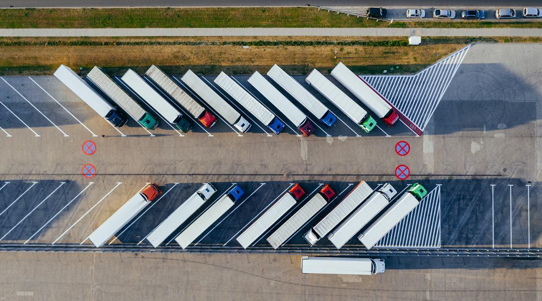 貨櫃車停車場